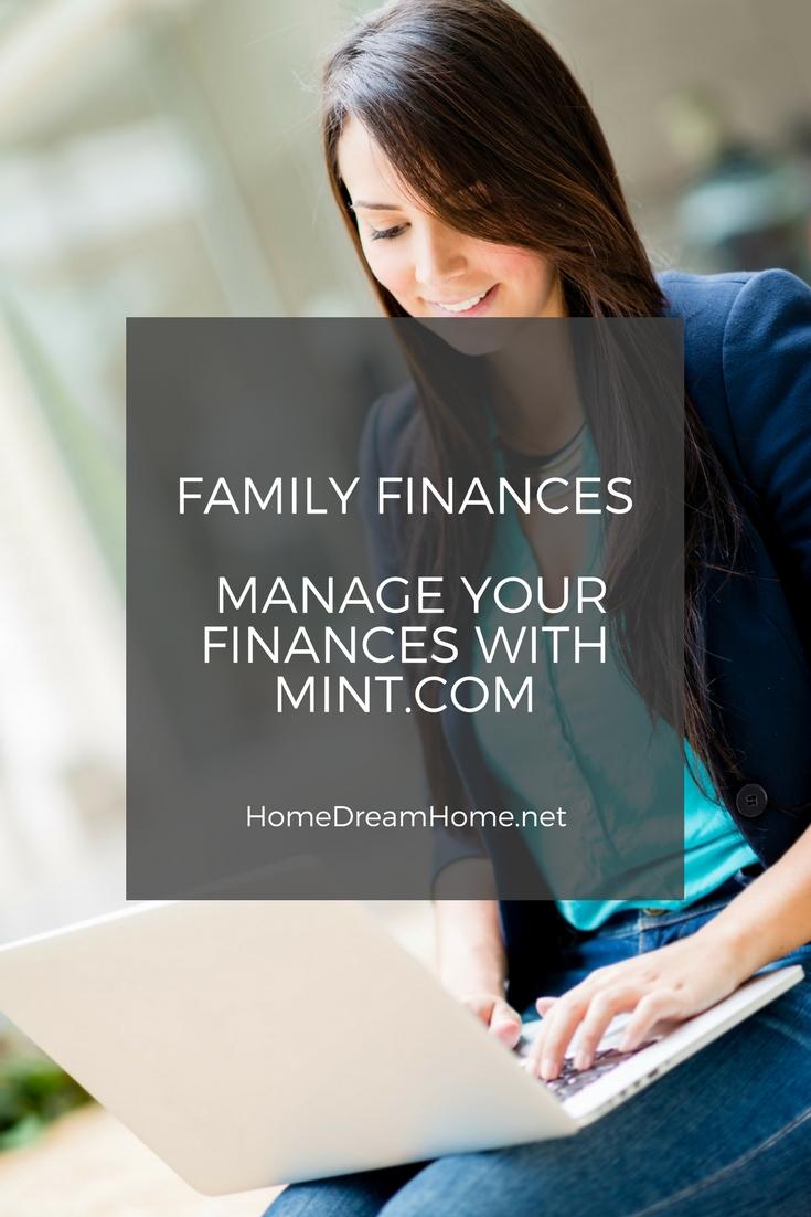Family Finances – Manage your finances with Mint.com