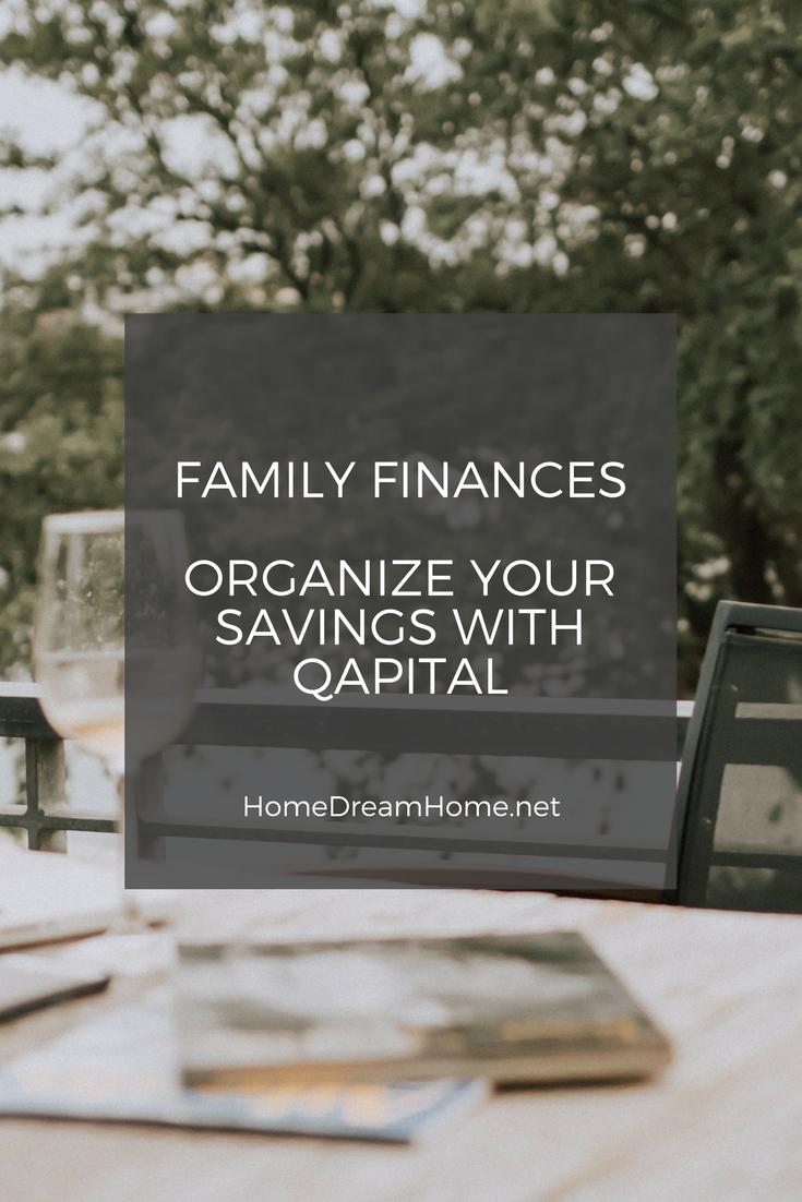 Family Finances – Organize your savings with QAPITAL
